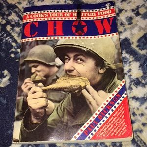 VTG cookbook military chow food Paul Dickson
